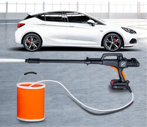 Cordless Car Washer Lithium Battery Car Washer Wash Sprayer Gun